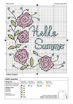 Exciting photo - head to our write-up for even more innovations! Cross Stitch Rose, Cross Stitch Borders, Cross Stitch Flowers, Counted Cross Stitch Patterns, Cross Stitch Designs, Cross Stitching, Cross Stitch Embroidery, Hand Embroidery, Christmas Embroidery Patterns