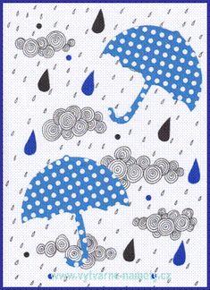 Weather Art, Four Seasons, Fall Decor, Origami, Kindergarten, Kids Rugs, Crafts, Geometry, Carnavals