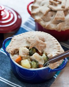 Recipe: Chicken Pot Pie with Whole Wheat Crust - Blue Apron New Recipes, Cooking Recipes, Favorite Recipes, Healthy Recipes, Cooking Ideas, Yummy Recipes, Food Ideas, Recipies, Yummy Food
