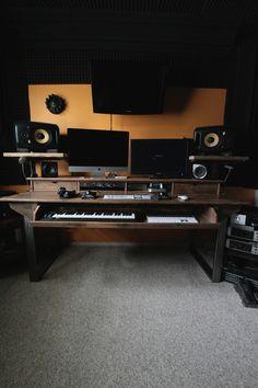 Reclaimed Composer / Studio Desk for Audio / Video / Film /