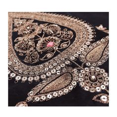 Intricacy. #RadhikaAiri #order #shop #instapic #Womenswear #Womensfashion #Vintage #Shoot #Styling #Jewels #Art #architecture #india #gold #rust #pastel #rawsilk #chanderi #womenswear #womensfashion #ethnic #ethnicwear #instapic #instadaily #withlove #fromindia #instagram Zardosi Embroidery, Hand Work Embroidery, Couture Embroidery, Gold Embroidery, Hand Embroidery Designs, Embroidery Dress, Embroidery Stitches, Embroidery Patterns, Simple Embroidery