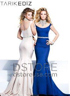 Vestido de festa longo sereia em crepe com colar SCARLET 92330 : Dstore, As Melhores Grifes dos EUA - Site Oficial