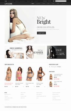 e-commerce lingerie