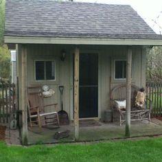 Primitive shed
