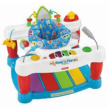I love this little thing I have to get me one of these for sure. Fisher-Price Little Superstar Step 'n Play Piano Walker