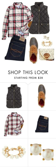 """""""And we know that in all things God works for the good of those who love Him, who have been called according to His purpose."""" by swwbama ❤ liked on Polyvore featuring J.Crew, L.L.Bean, H&M, Abercrombie & Fitch, Kate Spade and Michael Kors"""