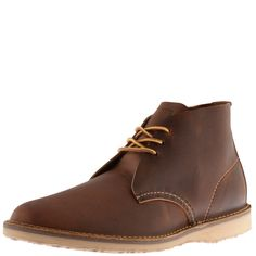 Red Wing Weekender Chukka Boots Brown
