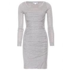 mytheresa.com - Diane von Furstenberg - LEROSA DRAPED DRESS - Luxury Fashion for Women / Designer clothing, shoes, bags