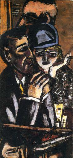 Max Beckmann: Bar Brown (1944)