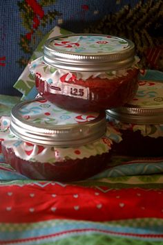 lots of great recipes to fill as mason jar gifts