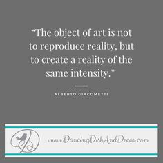 If this #creativequote inspired you share it with someone you know who needs inspiration... #besocreative #creativequotes #creativity #buyhandmade #creativityatitsbest #etsy #creativity #albertogiacometti #craftermakerartist #dancingdishanddecor #decorenthusiast #decorideas #decorinspiration #pin  sent via @latergramme