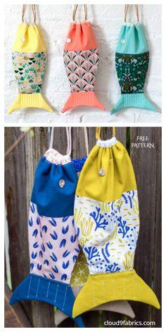 Crochet Pattern Free, Bag Sewing Pattern, Bag Patterns To Sew, Sewing Patterns Free, Fabric Patterns, Fabric Sewing, Clutch Tutorial, Sewing To Sell, Sewing For Kids