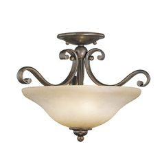 Buy the Vaxcel Lighting Royal Bronze Direct. Shop for the Vaxcel Lighting Royal Bronze Monrovia 3 Light Semi-Flush Indoor Ceiling Fixture with Frosted Glass Shade - 17 Inches Wide and save. Semi Flush Ceiling Lights, Flush Mount Lighting, Home Lighting, Royal Enfield Bullet, Farmhouse Lighting, Lowes Home Improvements, Ceiling Fixtures, Light Fixtures, Bowl
