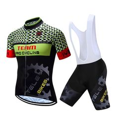 Mens Radtrikot Set 2019 Jersey Pants Short Sleeve Radhose Seat Pad Bicycle Wheel