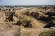 "City Nineveh excavations at the palace of Sennacherib at Nineveh, north Iraq. History  Today, Nineveh's location is marked by two large mounds, Kouyunjik and Nabi Yunus ""Prophet Jonah"", and the remains of the city walls (about 12 km/7.5 mi in circumference). Kouyunjik has been extensively explored. The other mound, Nabi Yunus, has not been extensively explored because there is a Muslim shrine dedicated to that prophet on the site."