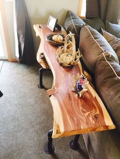 Hey, I found this really awesome Etsy listing at https://www.etsy.com/listing/252155911/eastern-red -cedar-sofaentrance-table