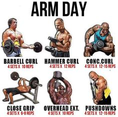 Arm Day Workout Plan! Healthy Fitness Training - Yeah We Train !