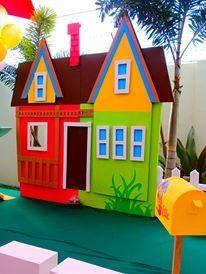 Disney up party theme