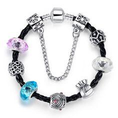 Treasure Bag Charm Bracelet