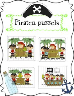 Piraten puzzels