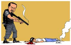 police brutality | Latuff Cartoons