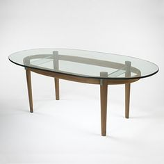 201: Fontana Arte / dining table. model #2089 < Important 20th Century Modern Design, 25 September 2005 < Auctions | Wright