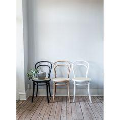 No14 stol, natur/rotting i gruppen Möbler / Stolar & Pallar hos RUM21.se (124367)