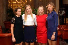 Slovakia Fed Cup 2017 ( Jana Čepelová, Anna Karolína Schmiedlová, Rebecca Šramková, Daniela Hantuchová )