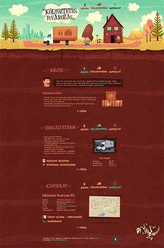 Unique Web Design, Költöztetés Fuvarozás #WebDesign #Design (http://www.pinterest.com/aldenchong/)