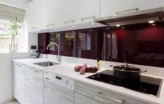 are you adventurous enough to have a purple kitchen? | @meccinteriors | design bites | #kitchen #purplekitchen