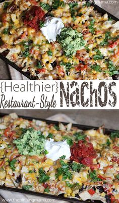 Perfect for the season opener. So easy to make restaurant nachos at home!