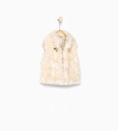 Fur waistcoat-Jackets, Cardigans and Sweaters-Baby girl-COLLECTION AW15 | ZARA United States