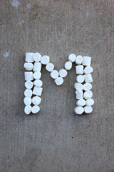 Letter M for Marshmallows by Pink Sherbet Photography, via Flickr