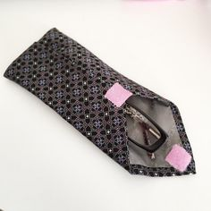 Old Tie, New Trick! Upcycle into a Case for your Glasses ...
