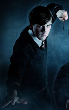 Neville Longbottom looks a bit like tom riddle in this one... I don't really like it