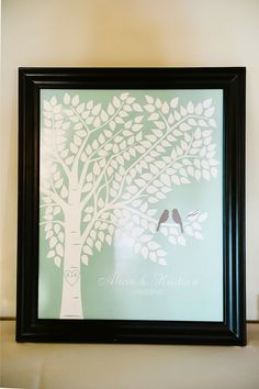 Wedding Tree Guest Book Guestbook Alternative by karimachal, $32.00