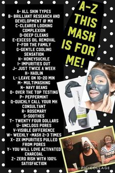 A mask that you wash off NOT peel off!!