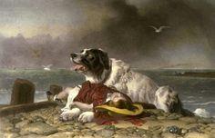 Edwin Henry Landseer (1802 – 1873) Saved