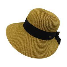 7ec990ab610df Sun Hat with Narrowing Brim - Karen Keith