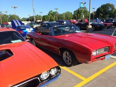 Zachs 72 Challenger and Carls 68 GTO