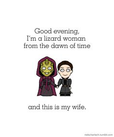 Vastra and Jenny were definitely my favourite thing from the Doctor Who Christmas episode.