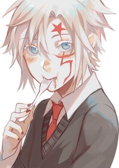 anime, allen walker, and d gray man image Anime People, Anime Guys, Manga Art, Anime Art, D Gray Man Allen, Character Art, Character Design, White Eyelashes, The Ancient Magus Bride