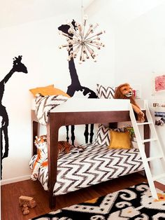 Chevron is simple, modern and timeless -- it can be used for boys and girls alike.    See more nursery trends in our gallery: http://www.people.com/people/celebritybabies/gallery/0,,20620053,00.html#