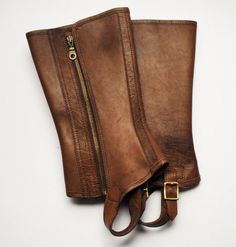 ! Men Traditional Leather Gaiters - William Evans Ltd Traditional Men Traditional Leather Gaiters & Shooting Clothing of Distinction