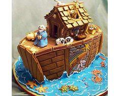 Noah's Ark in gingerbread