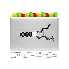 DNA Zipper Biology Science Biotech Nanotech by StickerSwagger