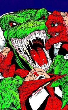 The Lizard vs Spider-Man