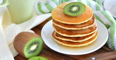 Recette de Pancakes végétaliens faciles. Facile et rapide à réaliser, goûteuse…