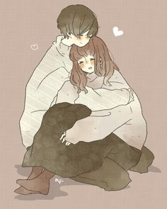 That's what people do who love you. They put their arms around you and love you when you're not so lovable Couple Manga, Anime Love Couple, Tumblr Gurl, Anime Kunst, Anime Art, Anime Couples Cuddling, Anime Couples Hugging, Romantic Anime Couples, Kawaii Anime