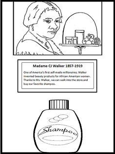 Popular Black Inventors Coloring Pages 98 the nononsense mom Black